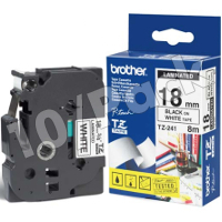 Brother TZ241 (Brother TZ-241) P-Touch Tapes (10/Pack)