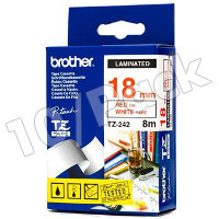 Brother TZ242 (Brother TZ-242) P-Touch Tapes (10/Pack)