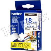 Brother TZ243 (Brother TZ-243) P-Touch Tapes (10/Pack)