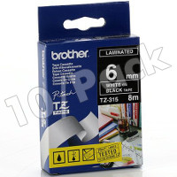 Brother TZ315 (Brother TZ-315) P-Touch Tapes (10/Pack)