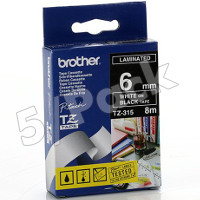 Brother TZ315 (Brother TZ-315) P-Touch Tapes (5/Pack)
