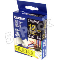 Brother TZ334 (Brother TZ-334) P-Touch Tapes (5/Pack)