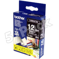 Brother TZ335 (Brother TZ-335) P-Touch Tapes (5/Pack)