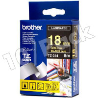 Brother TZ344 (Brother TZ-344) P-Touch Tapes (10/Pack)