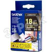 Brother TZ344 (Brother TZ-344) P-Touch Tapes (3/Pack)
