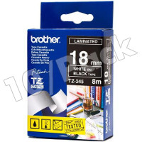 Brother TZ345 (Brother TZ-345) P-Touch Tapes (10/Pack)