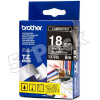 Brother TZ345 (Brother TZ-345) P-Touch Tapes (5/Pack)