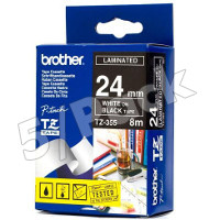 Brother TZ355 (Brother TZ-355) P-Touch Tapes (5/Pack)