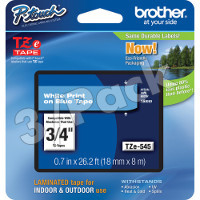 Brother TZ545 (Brother TZ-545) P-Touch Tapes (3/Pack)