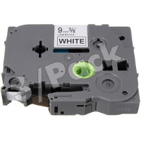 Brother TZe221 / TZe-221 Compatible P-Touch Label Tapes (3/Pack)