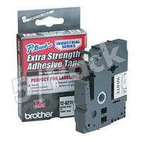 Brother TZS211 (Brother TZ-S211) P-Touch Tapes (5/Pack)