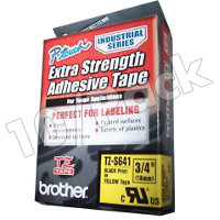 Brother TZS641 (Brother TZ-S641) P-Touch Tapes (10/Pack)