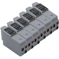 Canon BCI-21 Compatible Color Inkjet Cartridges (6/Pack)