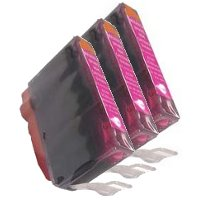 Canon BCI-3eM Compatible Magenta InkJet Cartridges (3/Pack)