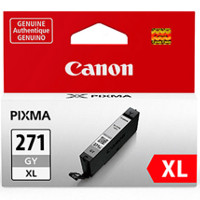 Canon 0340C001 / CLI-271XL Gray Inkjet Cartridge