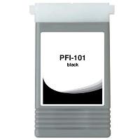 Canon 0883B001AA (Canon PFI-101BK) Compatible InkJet Cartridge