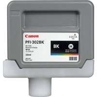 Canon 2216B001AA (Canon PFI-302BK) InkJet Cartridge