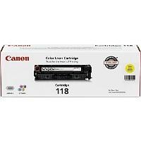 Canon CRG-118Y OEM originales Cartucho de tóner láser
