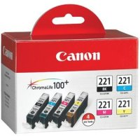 Canon 2946B004 (Canon CLI-221) InkJet Cartridges MultiPack