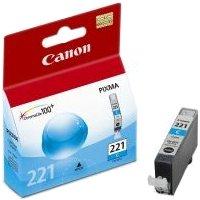 Canon 2947B001 (Canon CLI-221 Cyan) InkJet Cartridge