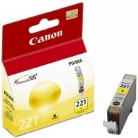 Canon 2949B001 (Canon CLI-221 Yellow) InkJet Cartridge