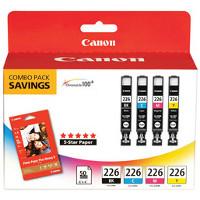 Canon 4546B007 (Canon CLI-226) InkJet Cartridge MultiPack