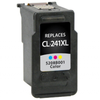 Remanufactured Canon CL-241XL (5208B001) Multicolor Inkjet Cartridge (Made in North America; TAA Compliant)