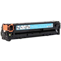 Compatible Canon Canon 131 (6271B001AA) Cyan Laser Toner Cartridge (Made in North America; TAA Compliant)