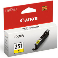 Canon 6516B001 (Canon CLI-251Y) InkJet Cartridge
