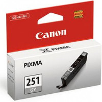 Canon 6517B001 (Canon CLI-251GY) InkJet Cartridge