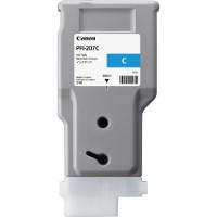 Canon 6706B001 (Canon PFI-207C) InkJet Cartridge