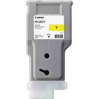 Canon 6708B001 (Canon PFI-207Y) InkJet Cartridge