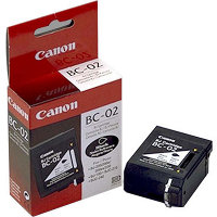 Canon BC-02 Black BubbleJet Printhead InkJet Cartridge