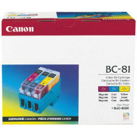 Canon BC-81 Tri-Color Inkjet Cartridge