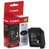 Canon BX-3 (Canon BX3) Black BubbleJet Inkjet Cartridge