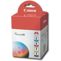 Canon CLI-8 Printer Ink Cartridge MultiPack
