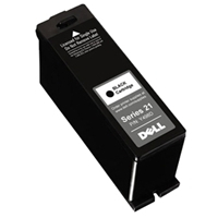 OEM Dell Y498D / GRMC3 / Series 21 (330-5275) Black Inkjet Cartridge