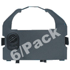 Epson 7762L (6-Pack) Compatible Black Nylon Dot Matrix Printer  Ribbons