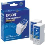 Epson T003012 Black Inkjet Cartridges (2-Pack T003011)