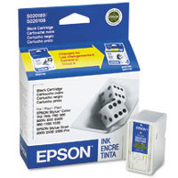 Epson S189108 Black InkJet Cartridge (Replaces S020108 & S020189)