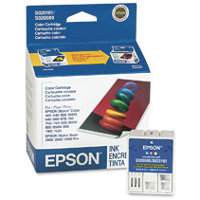 Epson S191089 Color InkJet Cartridge (Replaces S020089 & S020191)