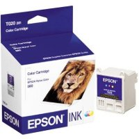 Epson T020201 Color Inkjet Cartridge