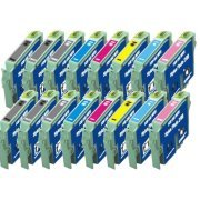 A Set of 16 Epson Inkjet Cartridges