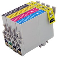 Epson T044120 / T044220 / T044320 / T044420 Remanufactured InkJet Cartridge MultiPack