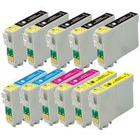 Epson T068120-T068220-T068320-T068420 Genérico / Reformado Cartucho de tinta