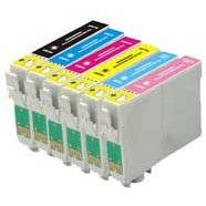 Epson T077920 Remanufactured InkJet Cartridge MultiPack