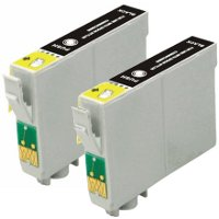 Epson T125120-D2 Remanufactured InkJet Cartridge Dual Pack