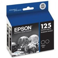 Epson T125120-D2 InkJet Cartridge Dual Pack