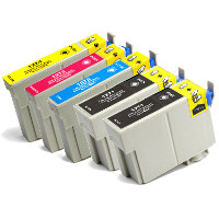 Epson T127120 / T127220 / T127320 / T127420 (Epson T127) Remanufactured InkJet Cartridge Value Pack