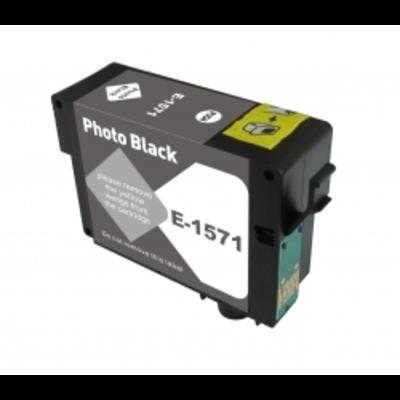 Remanufactured Epson T157120 Photo Black Inkjet Cartridge
